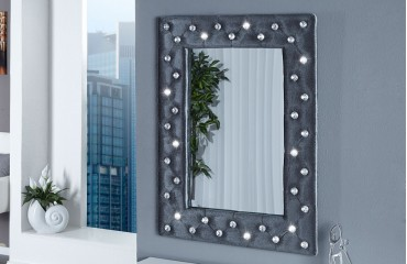 Specchi design diamonde gray nativo arredamento svizzera - Specchio diamond riflessi prezzo ...