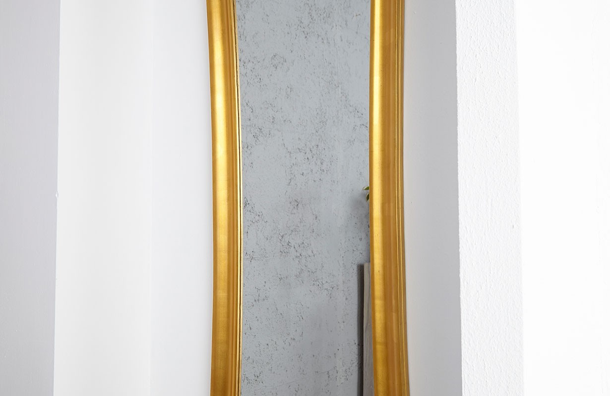 designer spiegel slim gold von nativo m bel g nstig kaufen. Black Bedroom Furniture Sets. Home Design Ideas