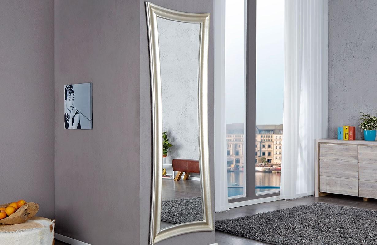 designer spiegel slim silver von nativo m bel g nstig kaufen. Black Bedroom Furniture Sets. Home Design Ideas