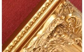 Designer Spiegel RUREA GOLD von NATIVO in der Schweiz