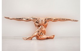 Designer Skulptur MUSCULAR COPPER