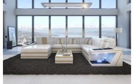 Designer Sofa CAREZZA XXL mit LED Beleuchtung