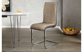 Chaise Design PARIS CAPPUCCINO