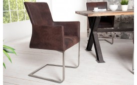 Chaise Design SANTORINI BROWN