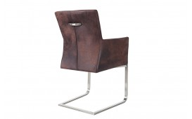 Chaise Design SANTORINI BROWN