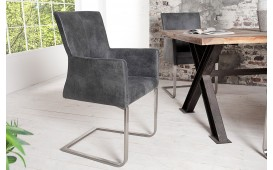 Chaise Design SANTORINI GREY