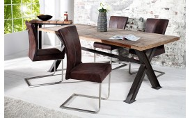 Chaise Design ATHENS BROWN