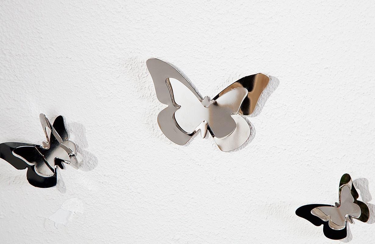 nativo m bel designer wanduhr butterfly von nativo m bel. Black Bedroom Furniture Sets. Home Design Ideas