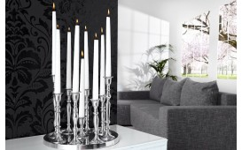 Chandelier bougeoir CHANDELIER SILVER L