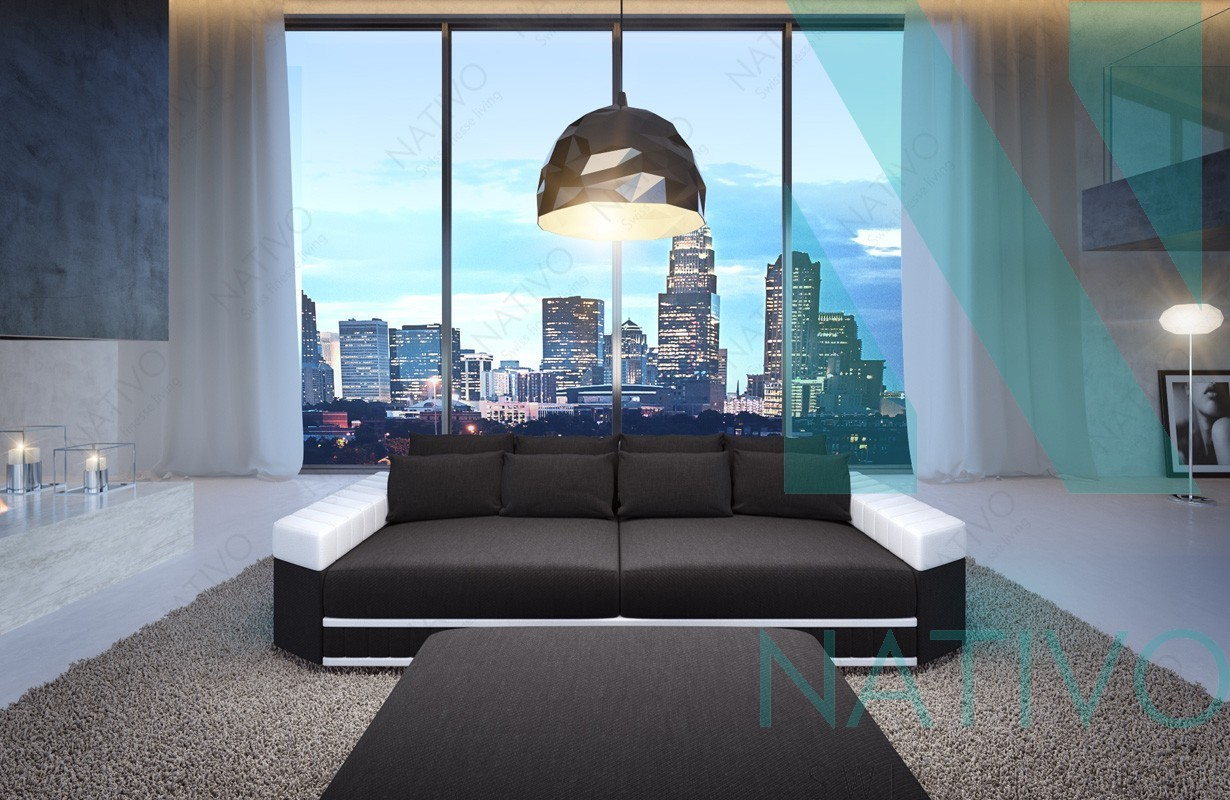 ledersofa big sofa skyline bei der nativo m bel schweiz filiale kaufen. Black Bedroom Furniture Sets. Home Design Ideas