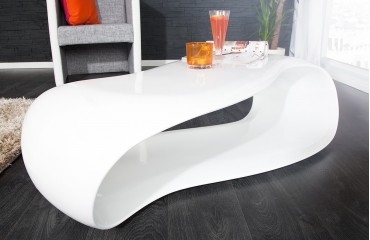 Designer Couchtisch ONER WHITE