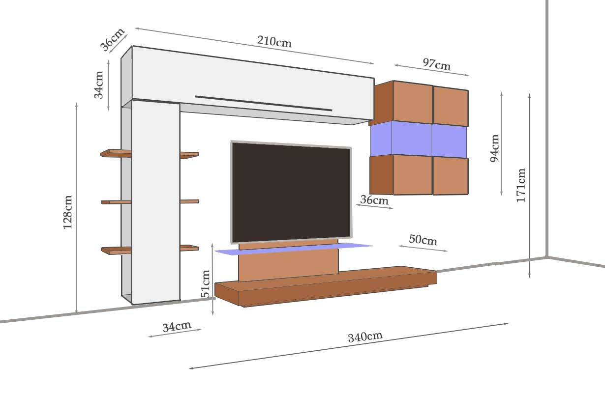 designer wohnwand campania nativo moebel schweiz. Black Bedroom Furniture Sets. Home Design Ideas