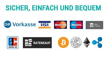 Zahlungsarten NATIVO Möbel Schweiz