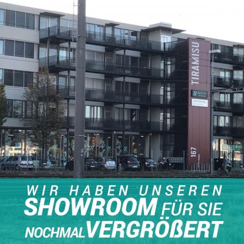NATIVO Filiale in Regensdorf-Zürich auf 1`000 m2 vergrössert!